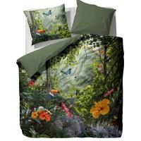 essenza satin bettw sche gabriel green digitaldruck 2tlg. Black Bedroom Furniture Sets. Home Design Ideas
