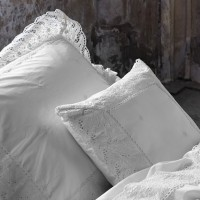 essenza perkal bettw sche josephine wei 2 cm. Black Bedroom Furniture Sets. Home Design Ideas