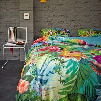 essenza satin bettw sche lola multi digitaldruck 2tlg. Black Bedroom Furniture Sets. Home Design Ideas