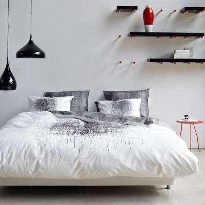 essenza bettw sche mason white 2 cm ebay. Black Bedroom Furniture Sets. Home Design Ideas