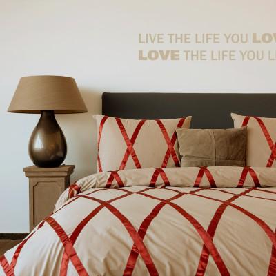hnl perkal bettw sche farrah taupe ebay. Black Bedroom Furniture Sets. Home Design Ideas