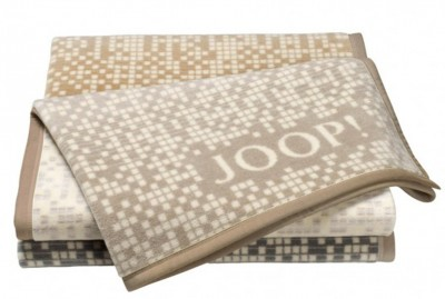joop decke tagesdecke mosaik 150x200 cm sand ebay. Black Bedroom Furniture Sets. Home Design Ideas