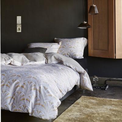 essenza baumwoll satin bettw sche ibis white x 200 cm ebay. Black Bedroom Furniture Sets. Home Design Ideas