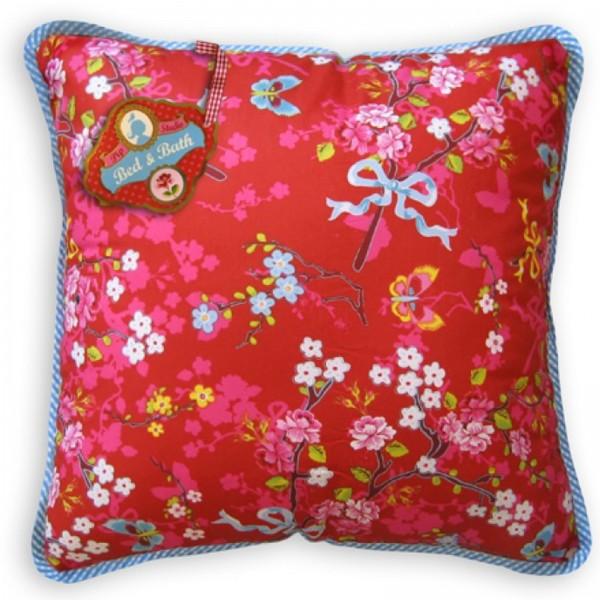 pip studio kissen mit kissenf llung chinese rose rot ebay. Black Bedroom Furniture Sets. Home Design Ideas