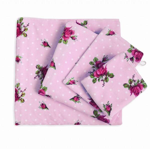pip studio handtuch roses dots rosa 50x100cm ebay. Black Bedroom Furniture Sets. Home Design Ideas