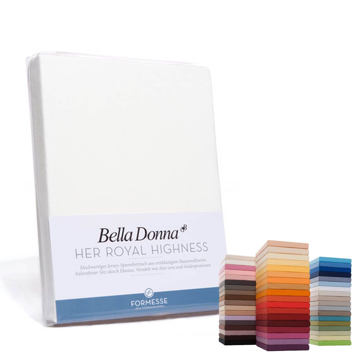 Formesse Spannbettlaken Jersey Bella Donna 180x200 bis 200x220 cm