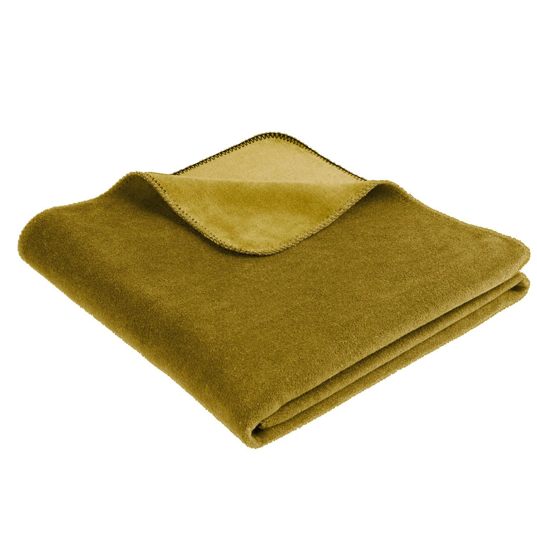 biederlack decke duo cotton trend 150 x 200 cm nutria 5102. Black Bedroom Furniture Sets. Home Design Ideas