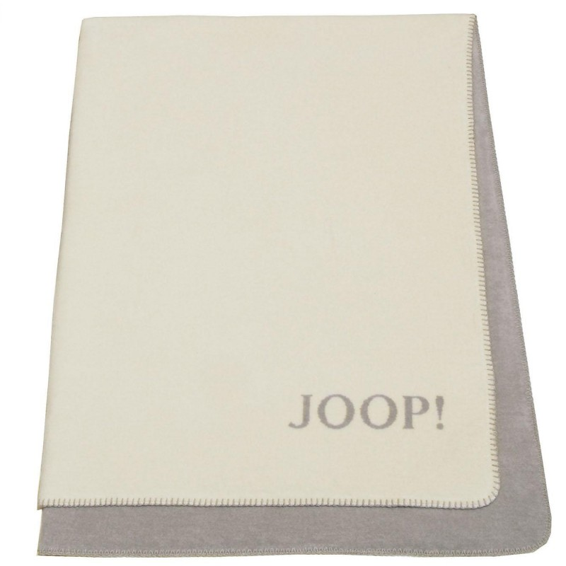 joop uni doubleface plaid 150x200 cm asche schnur 585615. Black Bedroom Furniture Sets. Home Design Ideas