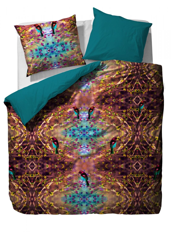essenza satin bettw sche naima purple digitaldruck 2960. Black Bedroom Furniture Sets. Home Design Ideas