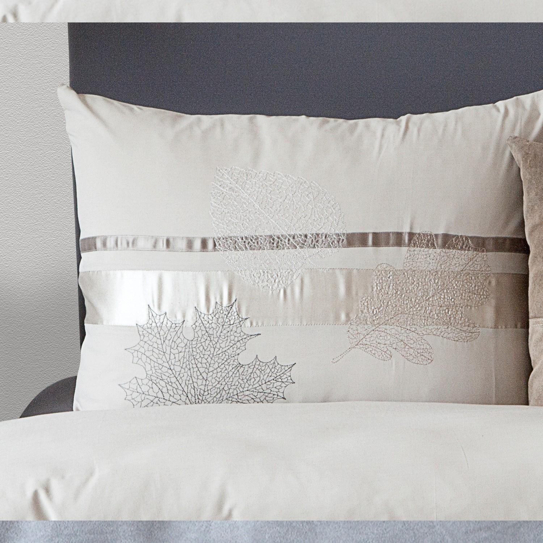hnl perkal bettw sche odette taupe 3106. Black Bedroom Furniture Sets. Home Design Ideas