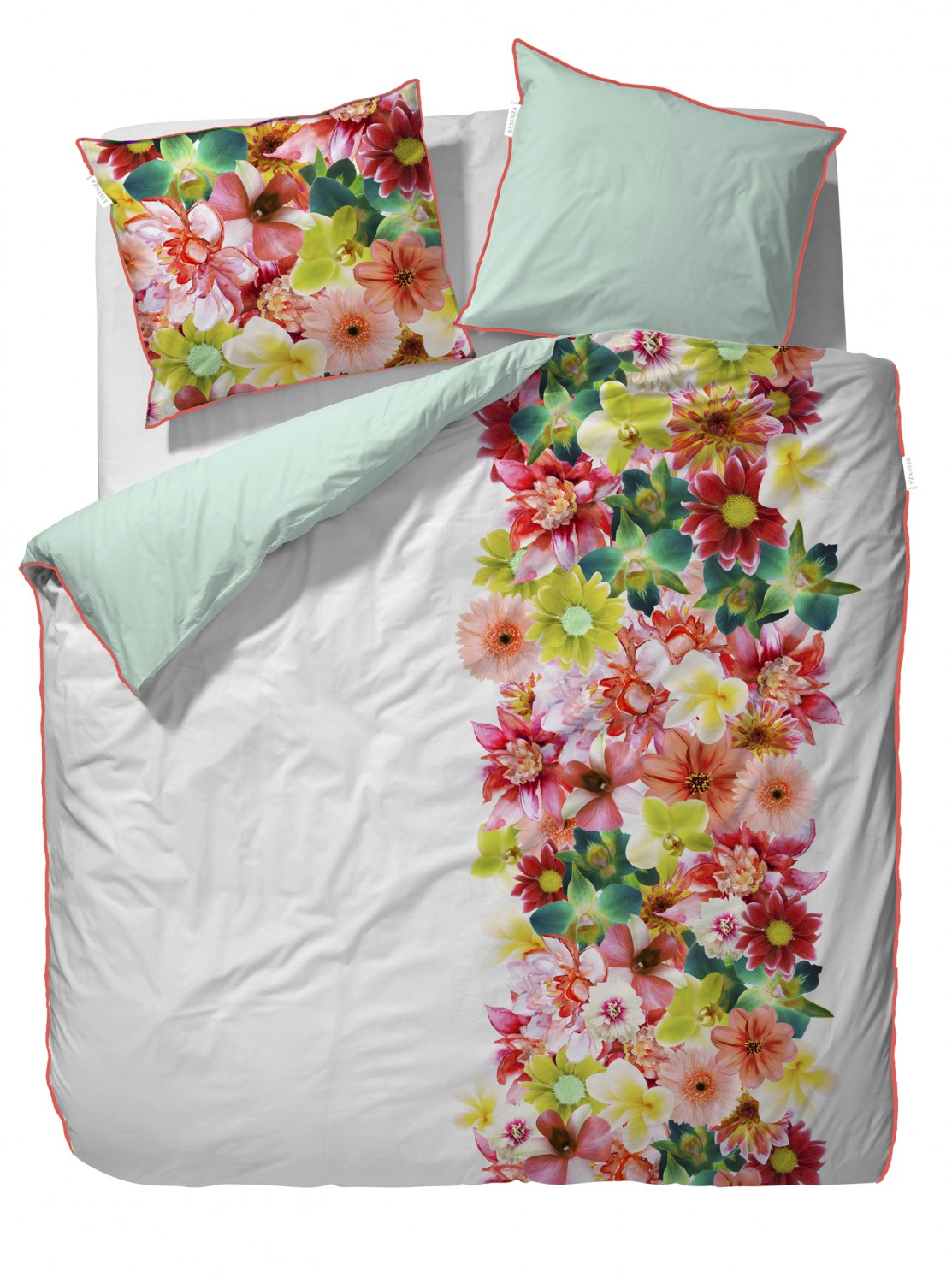 Essenza Baumwoll-Satin Bettwäsche Belle Multi Digitaldruck 3380