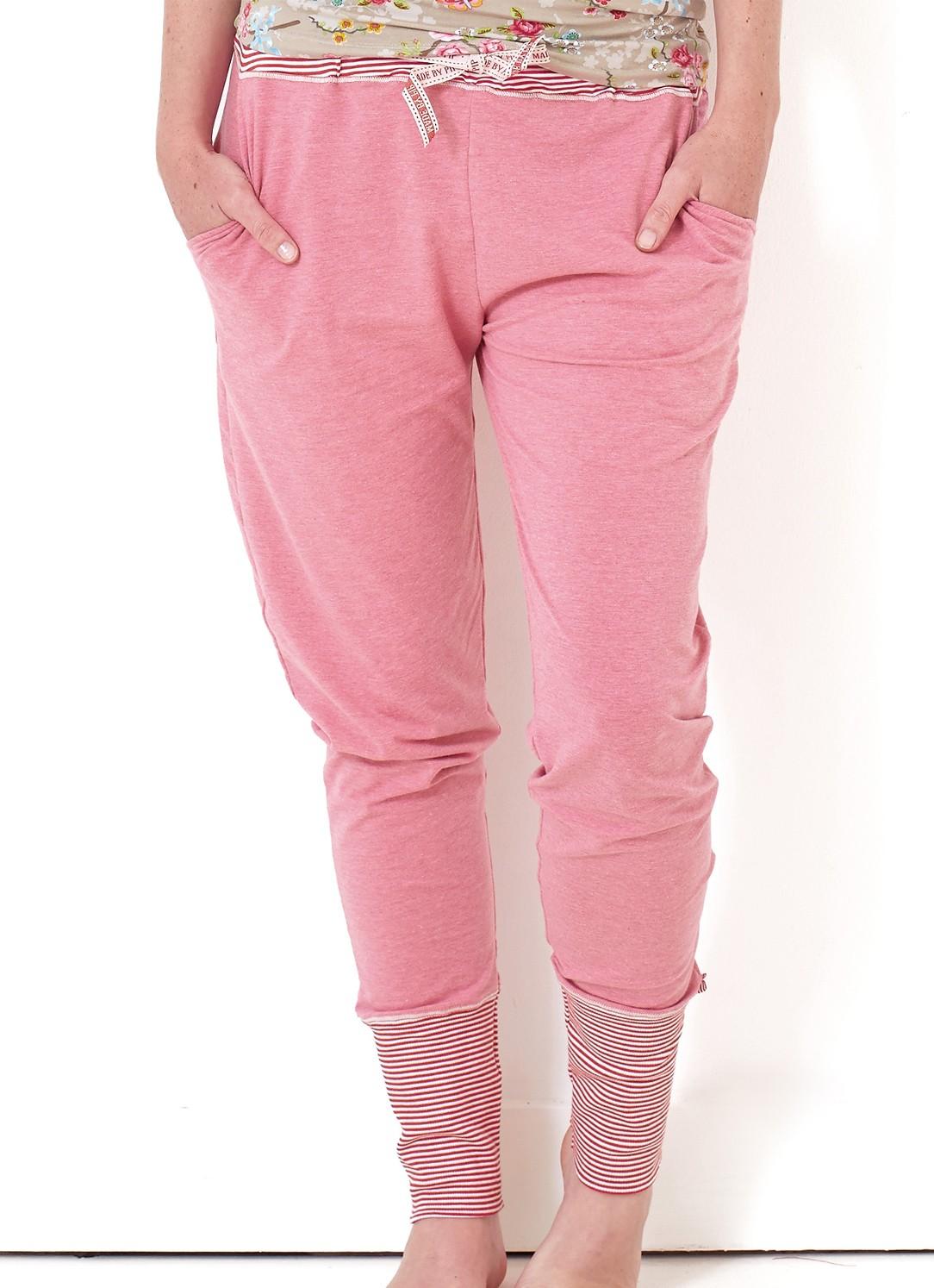 pip damen hose bobien melee lang pink marken pip studio pip studio homewear. Black Bedroom Furniture Sets. Home Design Ideas