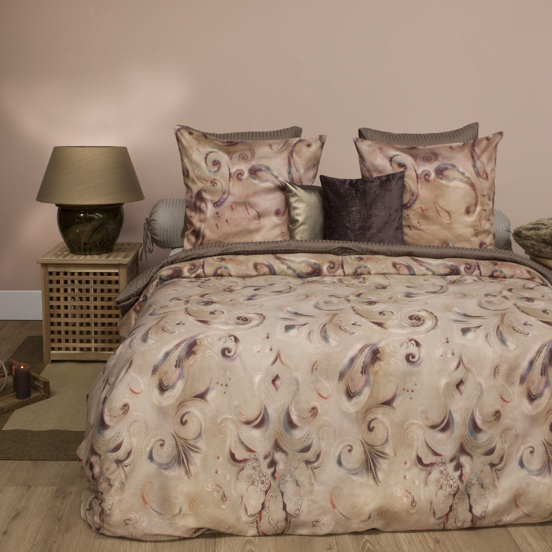 hnl premium satin bettw sche ebele multi 3572. Black Bedroom Furniture Sets. Home Design Ideas