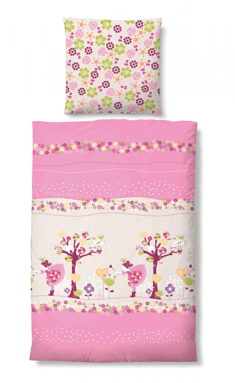 biberna seersucker kinderbettw sche 24707 173 pink 3633. Black Bedroom Furniture Sets. Home Design Ideas