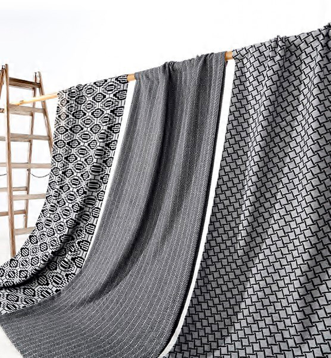 bocasa by biederlack scala wohndecke flavio 130x170 cm grau 3752. Black Bedroom Furniture Sets. Home Design Ideas