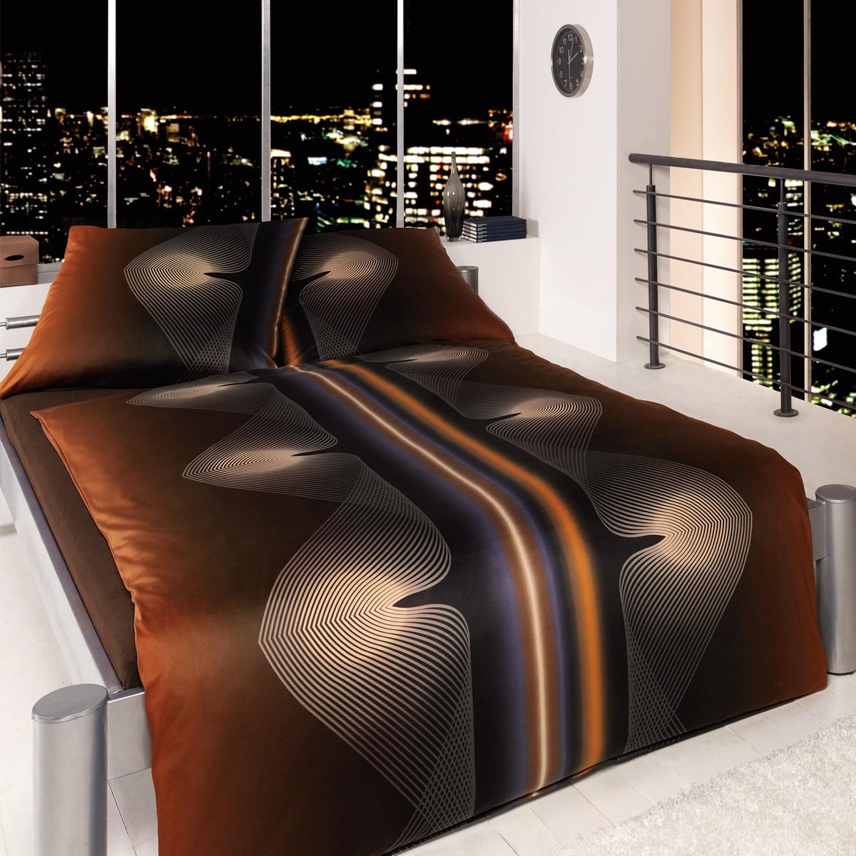 estella mako interlock jersey esteban 6420 960 kupfer 3963. Black Bedroom Furniture Sets. Home Design Ideas