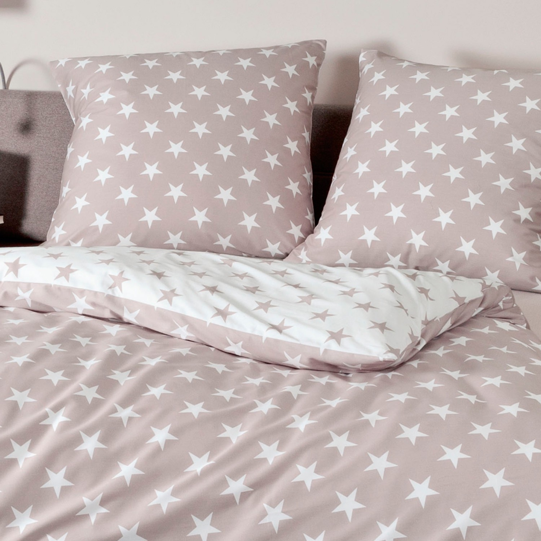 janine feinbiber bettw sche davos taupe 6466 07 4017. Black Bedroom Furniture Sets. Home Design Ideas