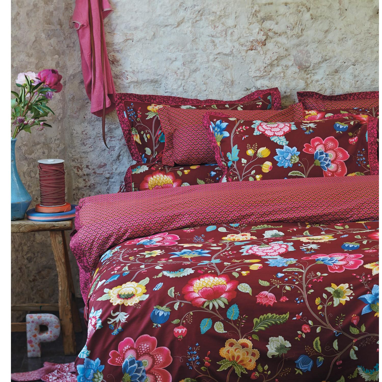 pip studio bettw sche floral fantasy chestnut baumwolle 4074. Black Bedroom Furniture Sets. Home Design Ideas