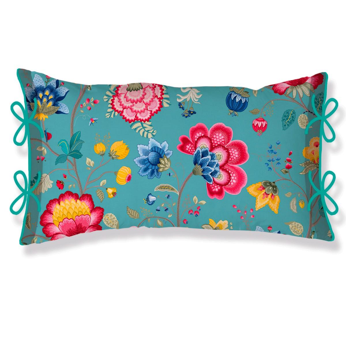 pip kissen zierkissen floral fantasy blue digitaldruck. Black Bedroom Furniture Sets. Home Design Ideas