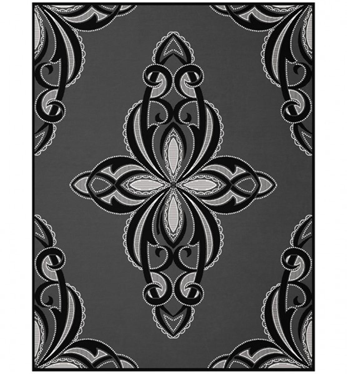 marken wohntextilien biederlackborbo bocasa thermosoft top decke 150x200 cm facette schwarz. Black Bedroom Furniture Sets. Home Design Ideas