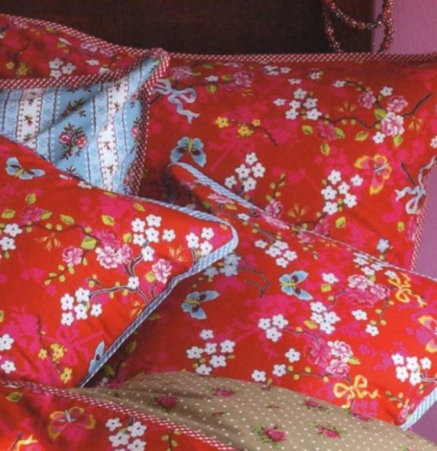 pip bettw sche chinese rose red 135x200 cm stilvolle dekoration pictures to pin on pinterest. Black Bedroom Furniture Sets. Home Design Ideas